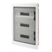 Gewiss GW40610 caja electrica - Cuadro eléctrico (Naranja, Transparente, Color blanco, 465 mm, 680 mm, 95 mm)