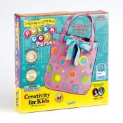 Creativity For Kids Creativity For Kids Kit Polka Dot Purse