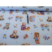 3 részes ágytakaró szett 220x240 cm barna hímzett jellegű