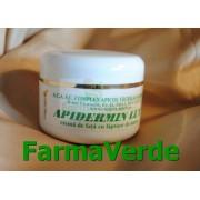 APIDERMIN LUX Crema Fata Laptisor Matca 50ml Complex Apicol