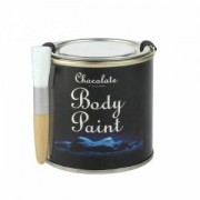 Čokoládová barva na tělo - dárkové balení s plechovkou