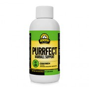 PURRFECT HAIRBALL SUPPORT LIQUID FOR CATS (Chicken Flavour) (4oz) 120ml