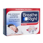 BREATHE RIGHT NASAL STRIPS (Extra - Tan) 44 One Size Strips