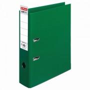 Biblioraft plastifiat A4, 8 cm, verde, Herlitz, PP interior / exterior