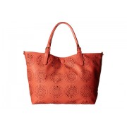 Gabriella Rocha Arria 2-in-1 Laser Cut Tote with Inside Bag CoralGrey