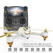 Novita 'HUBSAN H501S White + FPV Drone + Follow Me + 1080P HD Camera + retorno automático