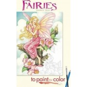 Fairies to Paint or Color by Darcy May
