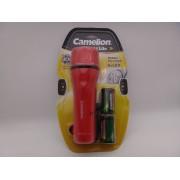 Camelion Travlite lanterna cu 6 leduri si baterii 2 X D R20 incluse