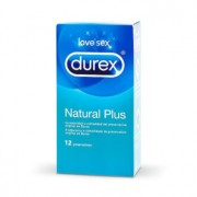 DUREX NATURAL PLUS 12 Unds