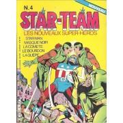 Starman - Masque Noir - La Comète - Le Bourdon - La Guêpe : Star-Team, Les Nouveaux Super-Héros N° 4 ( 1984 )