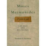 Moses Maimonides by Herbert A. Davidson