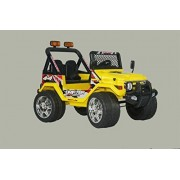 Jeep Ride On Ecar Wrangler Style Battery Operated Ride On Toy Car For Kids With Remote Control