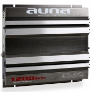 Amplificator de mașină AUNA AB-250 1200 Watt 2-Canale