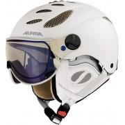 Alpina Jump JV VHM Helmet white prosecco/matt vario Ski- & Snowboardhelme