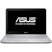 Laptop Asus N552VX Intel Core Skylake i7-6700HQ 256GB 16GB GTX950M 4GB FullHD Gri Bonus Rucsac Laptop Dicallo LLB9698