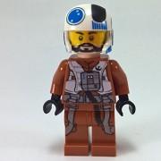 Resistance X-wing Pilot 75125 LEGO Minifigure /item# G4W8B-48Q13954