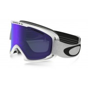 Oakley O2 Xl - Matte White w/Violet Irid - Wintersport Eyewear