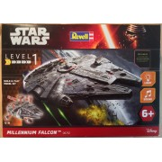 Millenium Falcon Built & Play With Light & Soul Revell RV6752