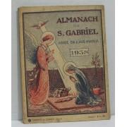Almanach De S. Gabriel Ange De L'ave Maria 1938