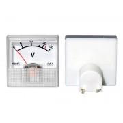 Analógový mini voltmeter 0-30V DC