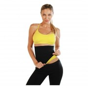 Pantalón + Faja de Regalo de Neonatex Quema Grasa-Negro con Amarillo
