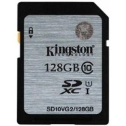 Card de memorie Kingston SD10VG2/128GB, SDXC, Class10, UHS-I, 45MB/s