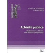 Achizitii publice. Reglementare, atribuire, audit financiar, jurisprudenta