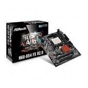 Tarjeta Madre ASRock Micro ATX N68-GS4 FX R2.0, S- AM3+, NVIDIA nForce 630a, 16GB DDR3 para AMD
