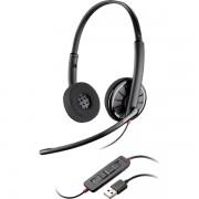 Casti cu microfon Plantronics Over-Head Blackwire C320-M USB - Black