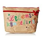 Adelheid Women's Lebenskünstlerin Kulturbeutel Papier Cosmetic bag