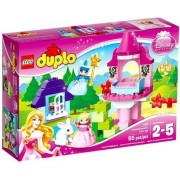 Sleeping Beauty's Tower, a Bunny, Bed & Merryweather's Forest Cottage by LEGO DUPLO Princess