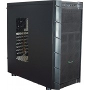 Carcasa Game Daemon 7001 (Neagra) + Ventilator Segotep Polar Wind 120mm (LED Rosu)
