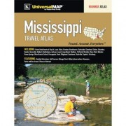 Universal Map Mississippi Travel Atlas 16490