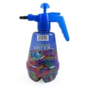 Water Balloon Pumping Station with 500 Water Balloons and Water Pump for Kids (Colors May Vary)