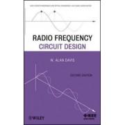 Radio Frequency Circuit Design by W. Alan Davis