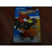 Angry Birds Red Bird Hot Wheels 2012 New Models Series #47/50 Red Bird 1:64 Scale Collectible Die Cast Car By Mattel