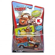 Disney Cars Cast 1:55 - Selección Modelos de Vehículos Megasize, Megasize:Hook Pit Crew / Mater