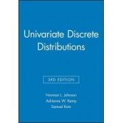 Univariate Discrete Distributions: Set by Norman L. Johnson
