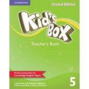 Kid's Box Level 5 Teacher's Book: Level 5 by Lucy Frino