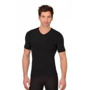 Trigema Herren Sport-Shirt Nilit-Bodyfresh Größe: L Material: 45 % PA-Bodyfresh, 45 % PA-Bright, 10 % Elastan Farbe: schwarz
