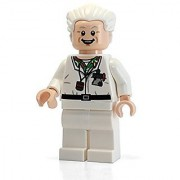 LEGO CUUSOO - Doc Brown Minifigure from Back to the Future Set 21103 (2013) by LEGO
