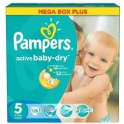 Scutece PAMPERS Active Baby 5 Junior Mega Box Plus 126 buc