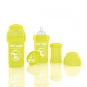 Twistshake, Anti Kolik Nappflaska, Gul - 180ml