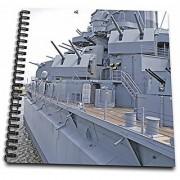 3dRose Uss Alabama Battleship Memorial Park Mobile Alabama US01 MGI0027 Mark Gibson Drawing Book 8 by 8