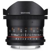 Samyang 12mm T3.1 VDSLR ED AS NCS Fish-eye (Sony E)