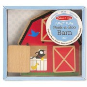 Детска играчка Дървена ферма - Къде е животното, 14035 Melissa and Doug, 000772140355