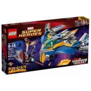 LEGO® Marvel Super Heroes Salvarea navei spaţiale Milano 76021