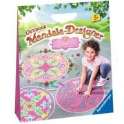 Ravensburger 29759 Outdoor Mandala Designer, Princess With Coloring Book
