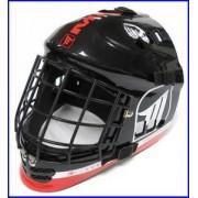 MPS Brankářská helma MPS DEVIL `16 Junior červená / černá