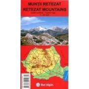 Muntii Retezat - Harta turistica